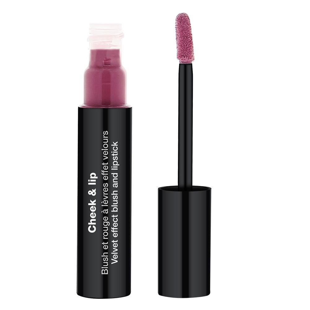 Cheek & Lip - Blush et rouge à lèvres effet velours Prune insoumise
