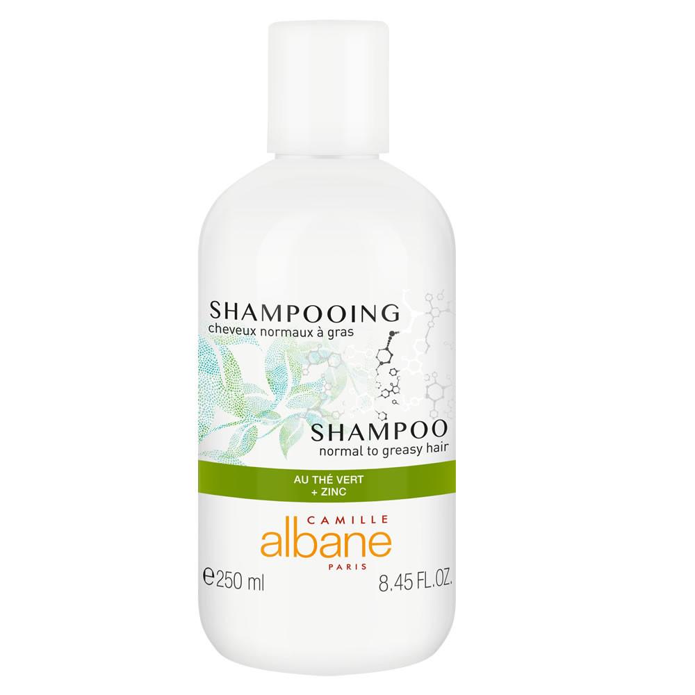 Shampooing cheveux normaux à gras - au thé vert + zinc