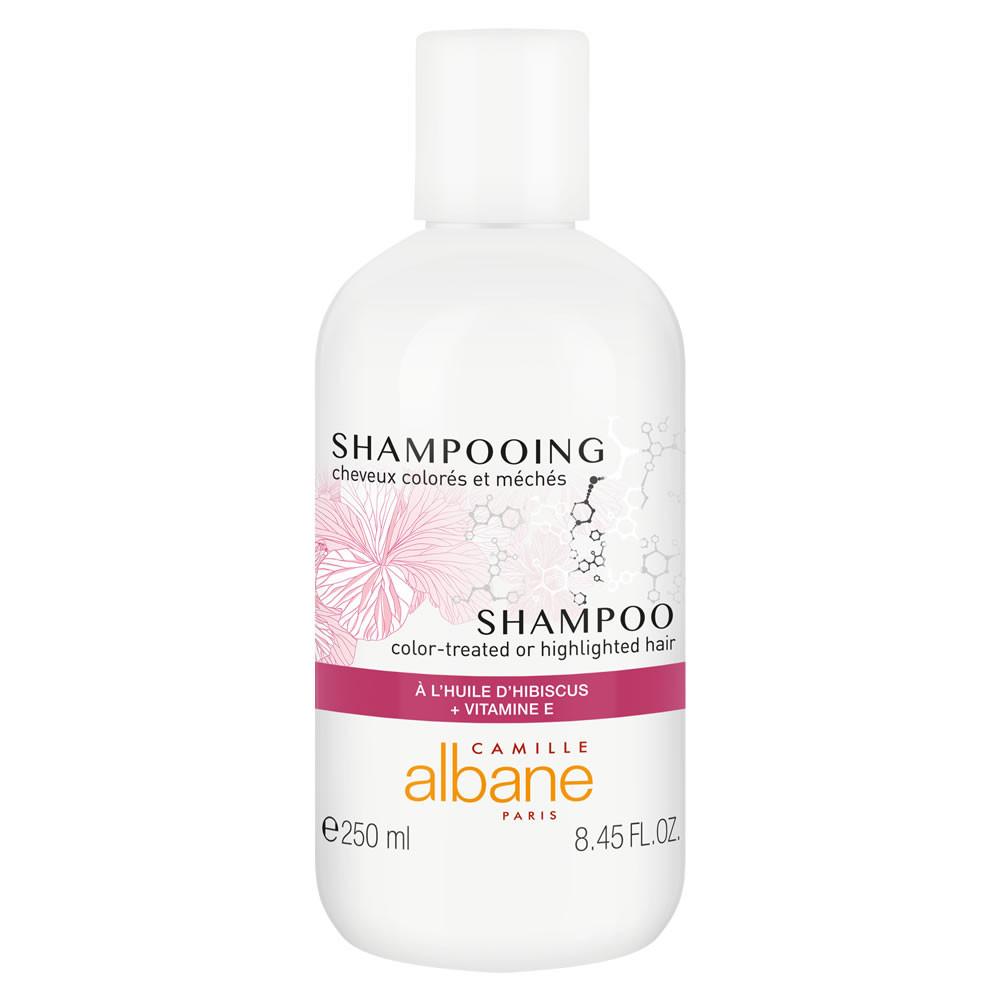 Shampooing cheveux colorés, méchés - à l'huile d'hibiscus + vitamine E