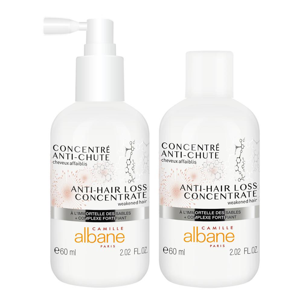 Concentré anti-chute cheveux affaiblis - à l'immortelle des sables + complexe fortifiant