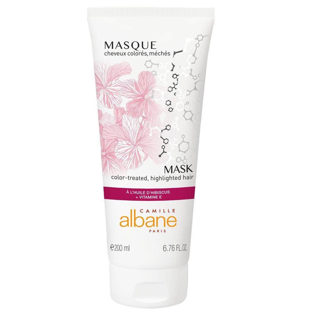 Masque cheveux colorés et méchés - à l'huile d'hibiscus + vitamine E