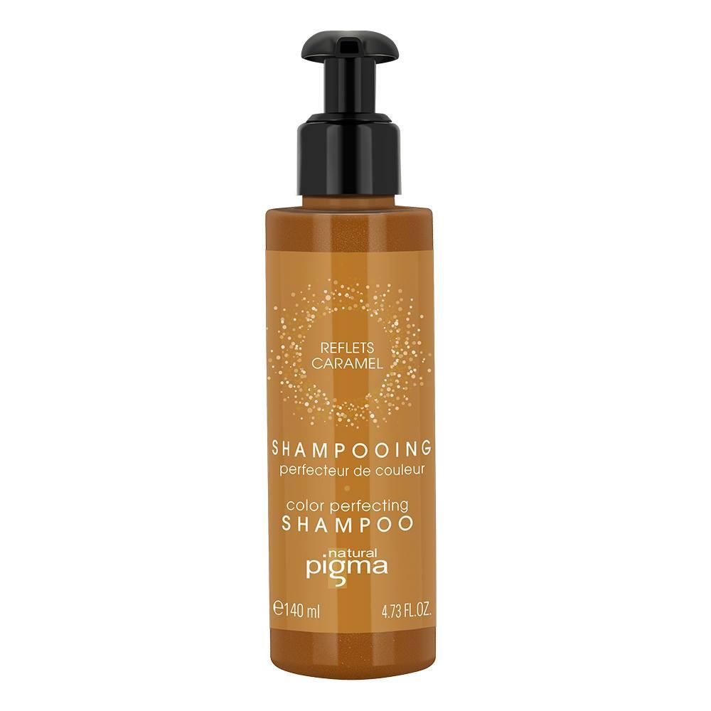 Shampooing perfecteur de couleur - Reflets caramel - Cheveux blonds clairs à blonds foncés
