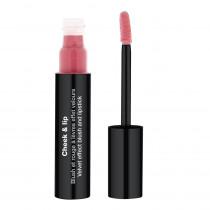 Cheek & Lip - Blush et rouge à lèvres effet velours  Rose tendre