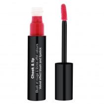 Cheek & Lip - Blush et rouge à lèvres effet velours Rouge rebelle