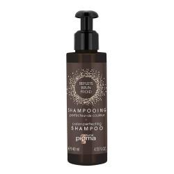 Shampooing perfecteur de couleur - Reflets brun froid - Cheveux châtains clairs à bruns